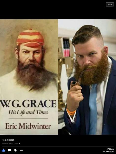 Tom Russell as W G Grace