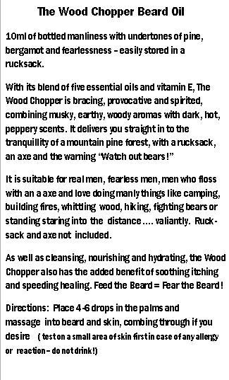 woodchopper back
