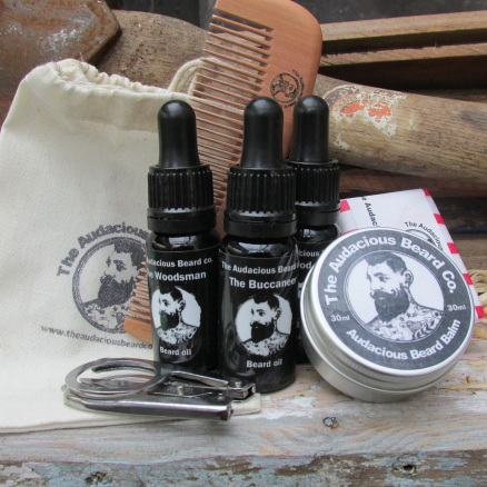 Beard wash and groom set