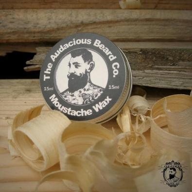 audaciousbeardco moustache wax