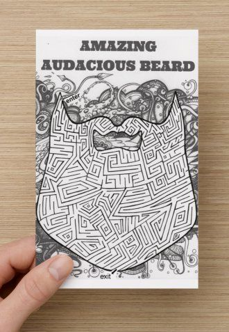 Audacious beard