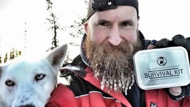 Survival kit dog sledding adventure