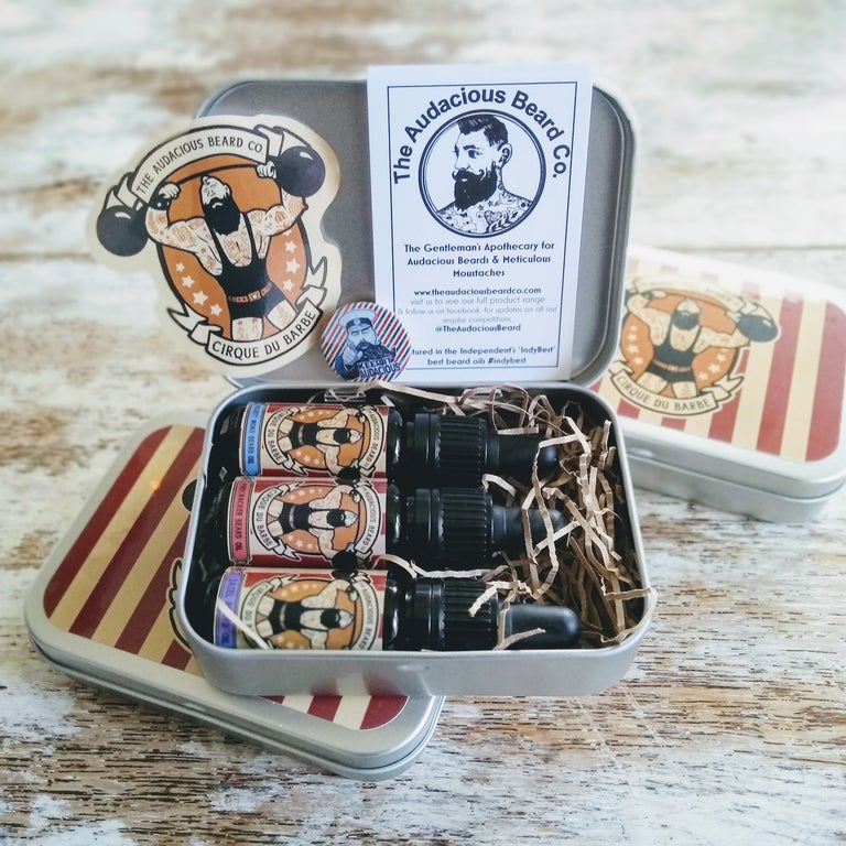 Cirque du Barbe beard oil Collection