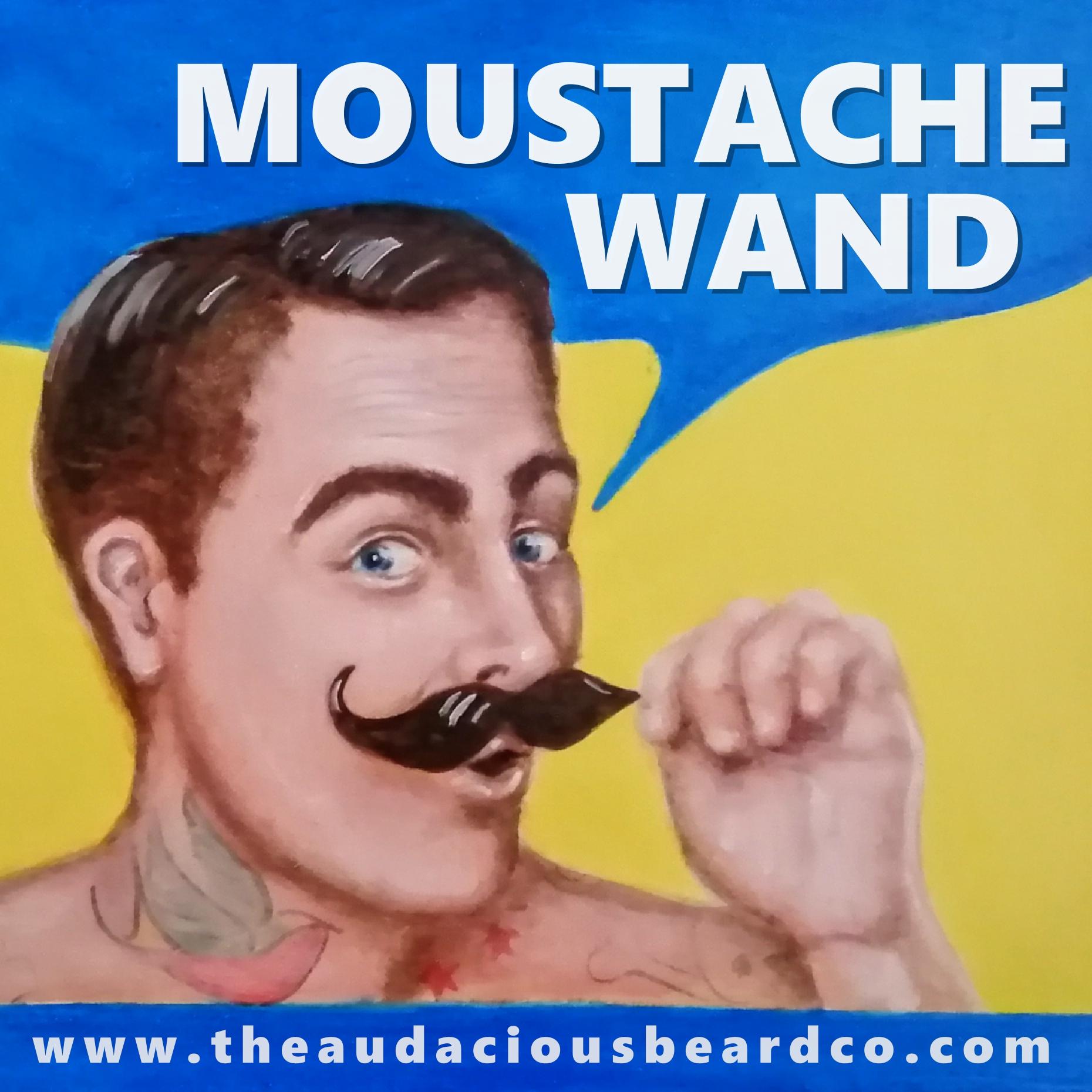 moustache wand